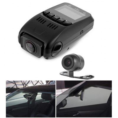 B40D 1080P FHD 170 Degree Wide Angle Dual Lens Car DVR