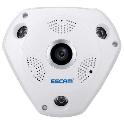 ESCAM Shark QP180 960P WiFi Panorama VR Cámara IP