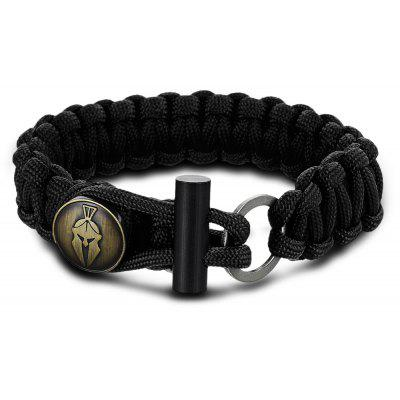 FURA 3 in 1 Survival Paracord Bracelet / Flintstone / Mini Knife