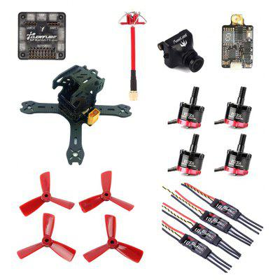 GB - 130 fibra de carbono DIY Frame Kit RC Racing Drone