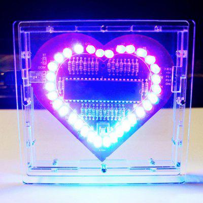 Heart Shape LED Lights Kit for DIY Project