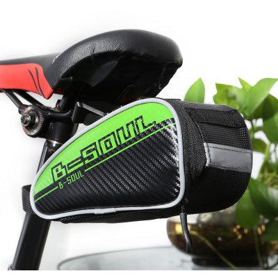 B - SOUL YA151 0.75L Bicycle Saddle Bag