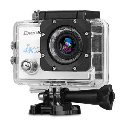 Excelvan Q8 4K 2 inch Display WiFi Action CameraAction Cameras<br>Excelvan Q8 4K 2 inch Display WiFi Action Camera<br><br>Aerial Photography: No<br>Anti-shake: No<br>Audio System: Built-in microphone/speaker (AAC)<br>Auto Focusing: No<br>Battery Capacity (mAh): 900mAh<br>Battery Type: External<br>Brand: EXCELVAN<br>Camera Timer: Yes<br>Charge way: AC adapter,Car charger,USB charge by PC<br>Charging Time: 2h<br>Chipset: Allwinner V3<br>Chipset Name: Allwinner<br>Decode Format: H.264<br>Features: Cool<br>Function: Camera Timer, Loop-cycle Recording<br>HDMI Output: Yes<br>Image Format: JPEG<br>Interface Type: HDMI, TF Card Slot, Micro USB<br>Language: Deutsch,English,French,Italian,Japanese,Korean,Polski,Portuguese,Russian,Simplified Chinese,Spanish,Traditional Chinese<br>Lens Diameter: 17mm<br>Loop-cycle Recording: Yes<br>Max External Card Supported: TF 64G (not included)<br>Microphone: Built-in<br>Model: Q8<br>Night vision: No<br>Package Contents: 1 x Q8 Action Camera, 1 x Waterproof Housing, 1 x Power Adapter, 1 x USB Cable, 1 x Handle Bar Mount, 7 x Mount, 1 x Clip, 2 x Helmet Mount, 4 x Bandage, 2 x Adhesive, 1 x Metal Tether, 2 x Plastic Te<br>Package size (L x W x H): 25.40 x 13.30 x 6.70 cm / 10 x 5.24 x 2.64 inches<br>Package weight: 0.738 kg<br>Product size (L x W x H): 5.90 x 4.00 x 2.30 cm / 2.32 x 1.57 x 0.91 inches<br>Product weight: 0.060 kg<br>Screen resolution: 320x240<br>Screen size: 2.0inch<br>Screen type: LCD<br>Standby time: 70 minutes<br>Time lapse: Yes<br>Time Stamp: Yes<br>Type: Sports Camera<br>Type of Camera: 4K<br>Video format: MOV<br>Video Frame Rate: 120fps,30FPS,60FPS<br>Video Resolution: 1080P(30fps),1080P(60fps),2.7K (30fps),4K (30fps),720P (120fps)<br>Waterproof: No<br>Waterproof Rating: No<br>White Balance Mode: Auto, Incandescent, Sunny, Cloudy, Fluorescent<br>Wide Angle: 170 degree wide angle<br>WIFI: Yes<br>WiFi Distance: 5M<br>WiFi Function: Remote Control<br>Working Time: Max 90 minutes
