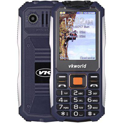 Buy Vkworld V3S Quad Band Unlocked Phone DEEP BLUE for $20.99 in GearBest store