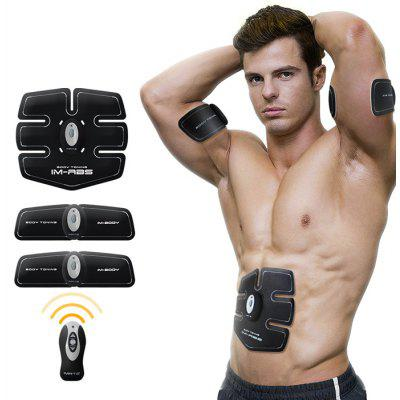 Buy WHITE AND BLACK IMATE IM 03 Muscle Training Gear Abs Fit Body Sculpting for $69.99 in GearBest store