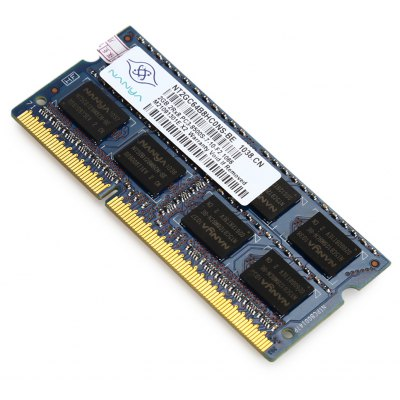 NANYA PC3 - 8500S - 7 - 10 - F2 2GB Memory Bank