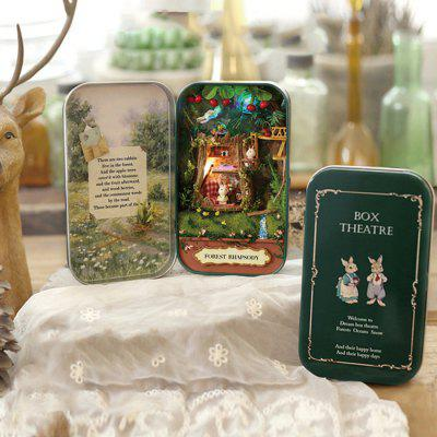 DIY Miniature Box Theatre Idea Art Handicraft Gift