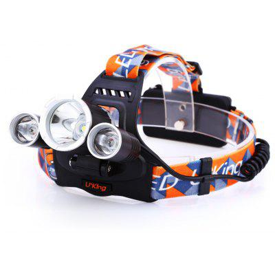 Buy BLACK UKing ZQ X819 LED Headlamp for $19.75 in GearBest store