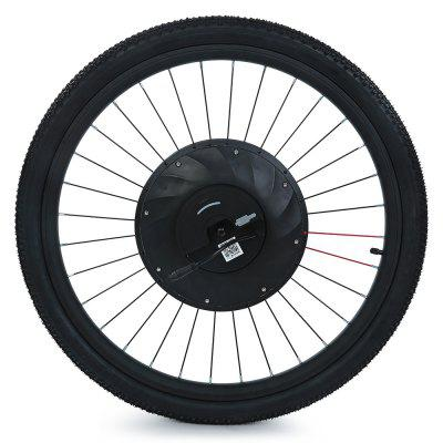 YUNZHILUN 36V - X iMortor 26 inch Smart Electric Front Bicycle Wheel 14 5 800w 36v electric wheel hub motor electric bike motor electric longboard skateboard wheel hub motor