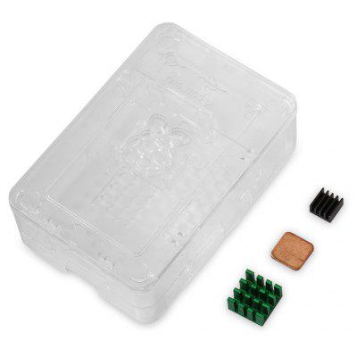 Raspberry Pi, Schutz-Shell-Box-Kit für Version 3 2 B +