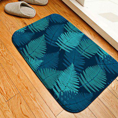 Banana Leaf Flannel Doormat Rug Mat