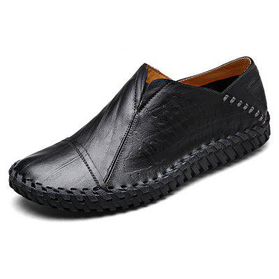 Handmade Slip-on Casual Men Leather Shoes