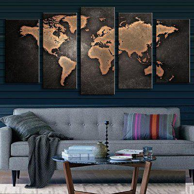 5PCS Retro World Map Printed  Canvas Print Unframed Wall ArtPrints<br>5PCS Retro World Map Printed  Canvas Print Unframed Wall Art<br><br>Package Contents: 5 x Wall Sticker<br>Package size (L x W x H): 45.00 x 7.00 x 7.00 cm / 17.72 x 2.76 x 2.76 inches<br>Package weight: 0.3900 kg<br>Product size (L x W x H): 44.00 x 6.00 x 6.00 cm / 17.32 x 2.36 x 2.36 inches<br>Product weight: 0.3100 kg