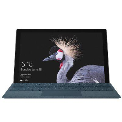 Microsoft New Surface Pro Intel Core m3-7Y30Tablet PCs<br>Microsoft New Surface Pro Intel Core m3-7Y30<br><br>3.5mm Headphone Jack: Yes<br>Additional Features: Proximity Sensing System, Light Sensing System, MP4, Wi-Fi, Calendar, Calculator, Browser, Gravity Sensing System, MP3, Alarm, Bluetooth, Compass<br>Back camera: 8.0MP<br>Battery / Run Time (up to): 13.0 hours video playing time<br>Battery Capacity(mAh): 45000mAh, Li-ion polymer<br>Bluetooth: 4.0<br>Brand: Microsoft<br>Camera type: Dual cameras (one front one back)<br>Charging LED Light: Supported<br>Core: Dual Core, 0.9GHz<br>CPU: Intel Kaby Lake Core M3-7Y30<br>CPU Brand: Intel<br>External Memory: TF card up to 64GB (not included)<br>Front camera: 5.0MP<br>G-sensor: Supported<br>GPS: Yes<br>GPU: Intel HD Graphics 615<br>Material of back cover: Magnesium Aluminum Alloy<br>MIC: Supported<br>Mini DP Port: Yes<br>MS Office format: Word, PPT, Excel<br>Music format: WMA, OGG, MP3, APE, AAC<br>OS: Windows 10<br>Package size: 33.30 x 24.00 x 6.00 cm / 13.11 x 9.45 x 2.36 inches<br>Package weight: 1.6670 kg<br>Picture format: PNG, JPEG, GIF, BMP, JPG<br>Power Adapter: 1<br>Pre-installed Language: Multi-language<br>Product size: 29.20 x 20.10 x 0.85 cm / 11.5 x 7.91 x 0.33 inches<br>Product weight: 0.7680 kg<br>RAM: 4GB<br>ROM: 128GB<br>Screen resolution: 2736 x 1824<br>Screen size: 12.3 inch<br>Screen type: Capacitive (10-Point)<br>Skype: Supported<br>Speaker: Dolby Audio Premium<br>Support Network: Dual WiFi 2.4GHz/5.0GHz<br>Tablet PC: 1<br>TF card slot: Yes<br>Type: Tablet PC<br>USB Host: Yes (USB 3.0)<br>Video format: H.264, MP4, MPEG2, MPEG4, VP8, H.265, VP9, WMV, AVI, 3GP, MKV<br>Video recording: Yes<br>WIDI: Supported<br>WIFI: 802.11 a/b/g/n/ac wireless internet<br>Youtube: Supported