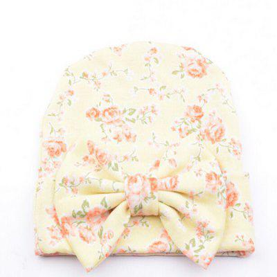 Bow Cotton Baby Infant Hat Cap