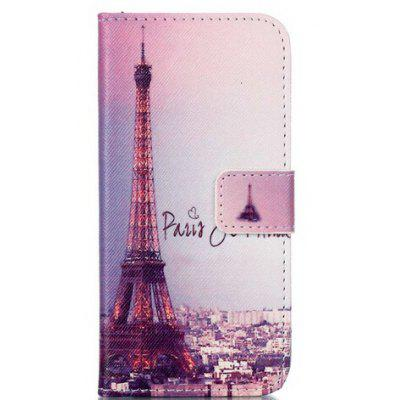 Eiffel Tower Style Flip-open Cover Case for Samsung Galaxy S7