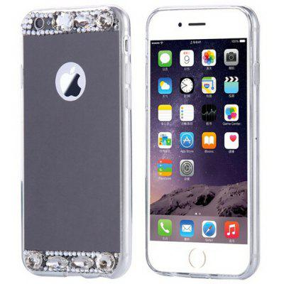 Diamond Silicone Mirror Plating Phone Case for iPhone 6 Plus