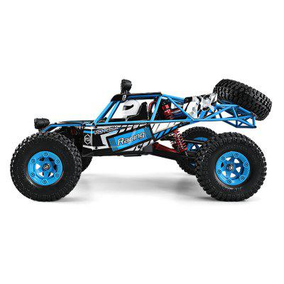 JJRC Q39 HIGHLANDER 1:12 4WD RC Desert Truck - RTR neewer® aluminum shock absorber 2 piece for rc 1 10 bigfoot car truck fits hsp redcat racing himoto exceed