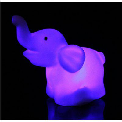LED Cute Elephant Night LightsNovelty lighting<br>LED Cute Elephant Night Lights<br><br>Material: Plastic<br>Package Contents: 2 x Night Lamp<br>Package size (L x W x H): 6.00 x 4.00 x 10.00 cm / 2.36 x 1.57 x 3.94 inches<br>Package weight: 0.0320 kg<br>Product size (L x W x H): 6.00 x 4.00 x 8.90 cm / 2.36 x 1.57 x 3.5 inches<br>Product weight: 0.0120 kg<br>Suitable for: Holiday Decoration, Home Decoration, Party, Exhibition