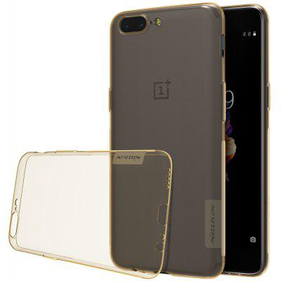 Nillkin TPU Transparent Protective Phone Case for OnePlus 5