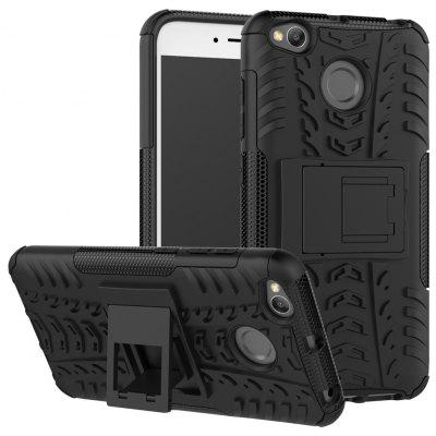 Luanke 3D Relief Kickstand Cover Case