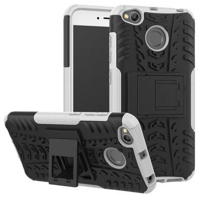 Luanke 3D Relief Kickstand Cover Case for Xiaomi Redmi 4X