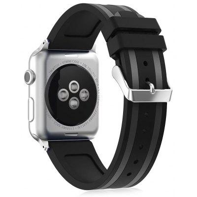 Silicona Athletic Intriguing diseño banda de reloj para Apple Watch