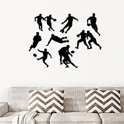 D050 Rugby Player Design Wall Sticker