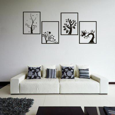 AY - 332 Creative DIY Tree Border Combination Decorative Wall Sticker