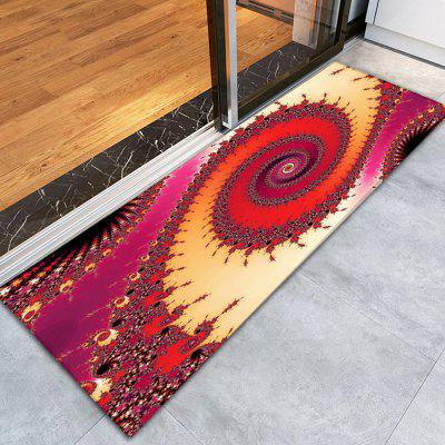 3D Printing Cool Cyclone Pattern Non-Slip Floor Carpet