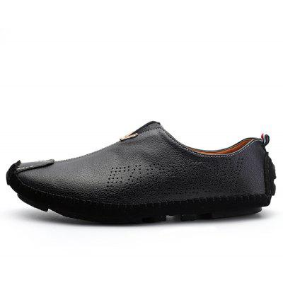 Men Handcrafted Genuine Leather Hollow Out Shoes