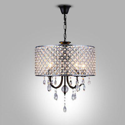 WENTUO QM - 88136F - 4 Romantic Crystal Pendant Light