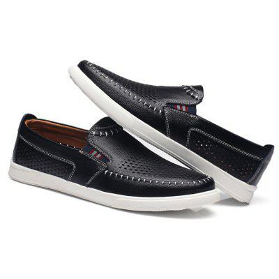 Business Respirável Hollow Slip On Oxford