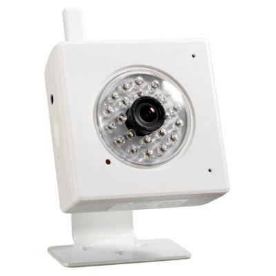 IPS - Eye04W 2.0MP Household Security IP Camera 1/4 - inch CMOS 2.8mm Fixed Lens 1080P Security Camera (White)