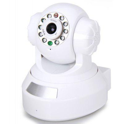 RP203 Plug and Play 1.0 Million Pixels IP Wireless/Wired Camera with 10 IR LED Lights