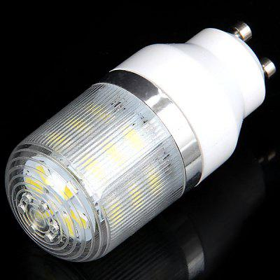 GU10 24 x 5730 SMD LED 7W 750 Lumens 220V Corn Light with Stripe Lamp Shade (White Light)