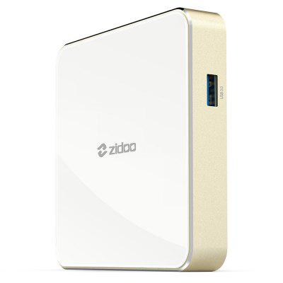 Zidoo H6 Pro TV BoxTV Box<br>Zidoo H6 Pro TV Box<br><br>Audio format: WMA, AAC, AC3, APE, DTS, FLAC, MP3, OGG, WAV<br>Bluetooth: Bluetooth 4.1<br>Brand: ZIDOO<br>Core: Quad Core<br>CPU: ARM Cortex-A53<br>Decoder Format: H.263, HD MPEG4, H.265, H.264<br>DVD Support: No<br>External Subtitle Supported: Yes<br>GPU: Mali-T720 MP2<br>HDMI Function: HDCP<br>HDMI Version: 2.0<br>Interface: USB2.0, TF card, USB3.0<br>Language: English,Multi-language<br>Max. Extended Capacity: 64G<br>Model: H6 Pro<br>Other Functions: DLNA, 3D Video, Airplay, ISO Files, Miracast, NTSC, PAL, 3D Games<br>Package Contents: 1 x TV Box, 1 x Bluetooth Remote Control, 1 x HDMI Cable, 1 x Power Adapter, 1 x English User Manual<br>Package size (L x W x H): 18.00 x 14.50 x 6.50 cm / 7.09 x 5.71 x 2.56 inches<br>Package weight: 0.6400 kg<br>Photo Format: BMP, GIF, TIFF, JPEG, PNG<br>Power Consumption.: 5V 2A<br>Power Supply: Charge Adapter<br>Power Type: External Power Adapter Mode<br>Processor: Allwinner H6<br>Product size (L x W x H): 10.50 x 10.50 x 1.70 cm / 4.13 x 4.13 x 0.67 inches<br>Product weight: 0.2000 kg<br>RAM: 2G RAM<br>RAM Type: DDR4<br>RJ45 Port Speed: 1000M<br>ROM: 16G ROM<br>Support 5.1 Surround Sound Output: Yes<br>System Bit: 64Bit<br>Type: TV Box<br>Video format: 4K, H.265<br>WiFi Chip: AP6255