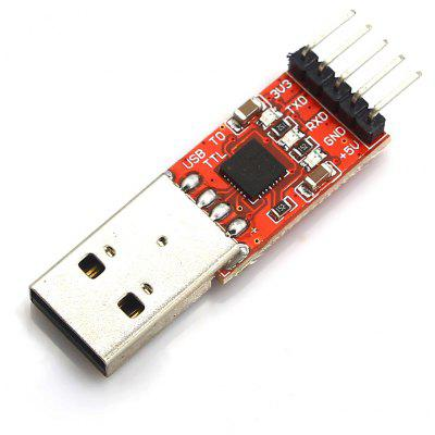 CP2102 Chip USB to TTL Converter Module Board 3.3V and 5V Dual Voltage Output with Cable