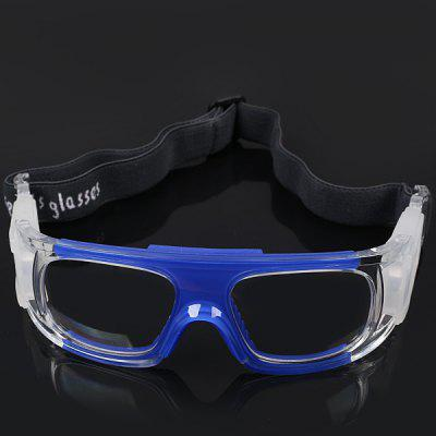 Anti-shock Basketball Glasses Sports Safety Goggles Soccer Football Eyewear - Blue
