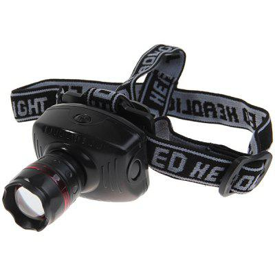 Durable 3W LED Headlight with High Power Zoom Founction