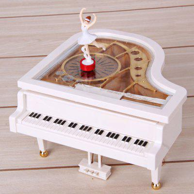 YL2012 Clockwork Music Box High Emulational Rotate Cassical Piano A Good Christmas Gift for Your Friends and Relative