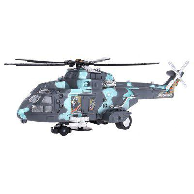 NO.3322 Electric Colorful Flashing Helicopter with Sound