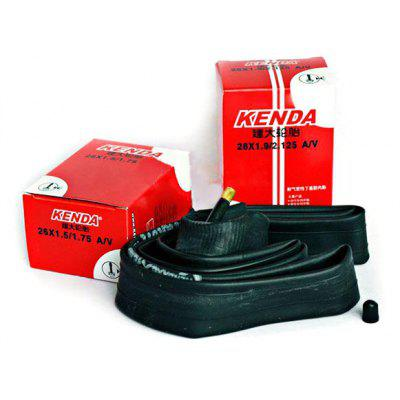 Kenda Road Bicycle Bike Tire Inner Tube 26 x 1.9 / 2.125 with A/V  Valve (American Valve)