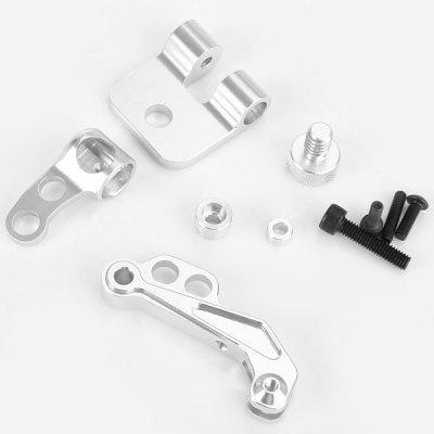 CNC FPV LCD Monitor Mount Bracket Support for DJI Phantom JR Futaba Transmitter
