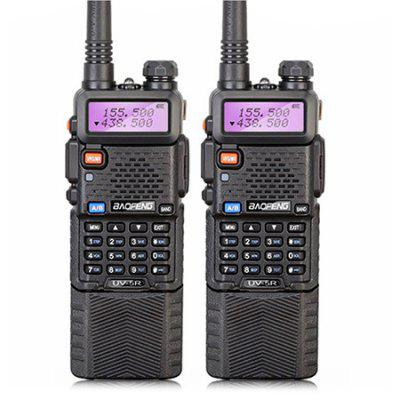 2PCS BAOFENG BF - UV5R Wireless Dual Band Walkie Talkie