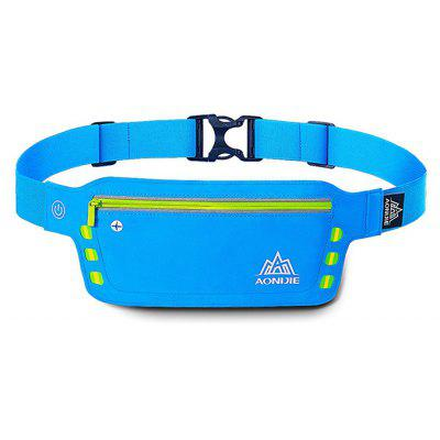 AONIJIE Outdoor Sports Waist Bag with LED Light