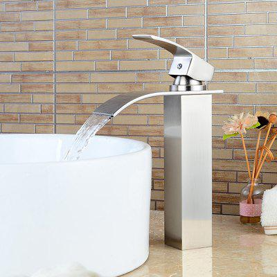 LING HAO Brushed Design Bathroom Faucet