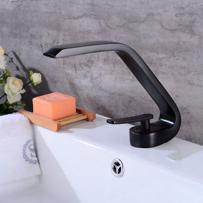 LING HAO HL - 139 Single Handle Waterfall Bathroom Faucet