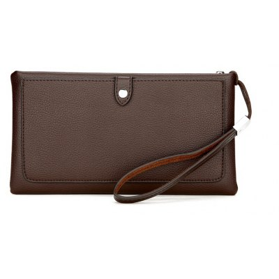 FEIDIKABOLO Fashionable Zipper Wallet for Men