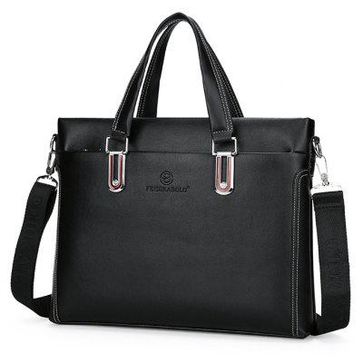 Men Stylish Business PU Shoulder Bag